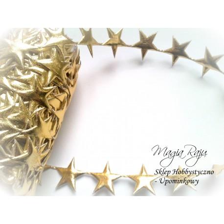 Aplikacja gwiazdka gwiazdki złote 25 szt